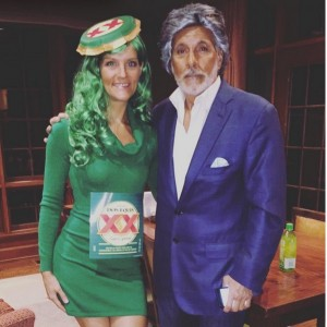 I don't always dress up  for Halloween, but when I do.... Halloween couples costume via @SUZERBOOZER