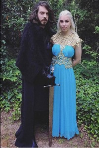 Game of Thrones couples costume via @Faerie_princess
